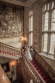 If your wedding will be more formal, something like this in a castle would be awesome!