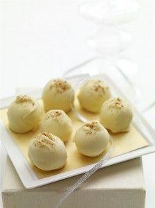 Albertsons Market » Eggnog Truffles #holidayentertaining