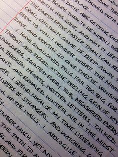#handwriting