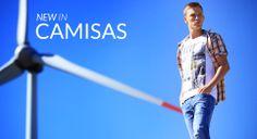 TIFFOSI | NEW IN - Camisas  http://www.tiffosi.com/homem  #tiffosi #tiffosidenim #newin #musthave #new #summer #denim #man