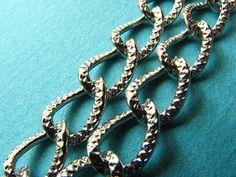 3.28 Feet 1 meter  12 mm Twisted Textured Flat http://etsy.me/1Em98FF #jewelry #ring #mount #brass #gem #bezel #setting #bead #chain