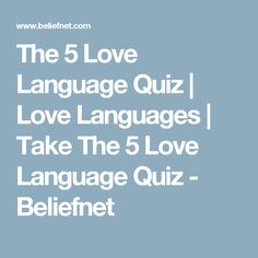 Profiles Archive - The 5 Love Languages