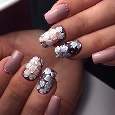 You can make such nail design to the spring time. It will be ideal for the celebration of the International ...