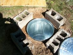 Simple root cellar solution for preserving root vegetables through the winter.