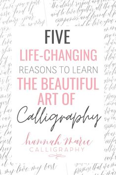 Here are five amazing reasons you should learn the art of calligraphy. calligraphy pens, calligraphy practice sheets, free calligraphy practice, learn lettering, learn modern calligraphy, learn modern calligraphy free, how to learn modern calligraphy, learn a new skill, learn a new hobby, calligraphy supply list, calligraphy supplies for beginners Calligraphy Supplies, Calligraphy Video, Calligraphy Practice, Modern Calligraphy, Pretty Fonts Alphabet, Lettering Art, Learn A New Skill, Supply List, Learning To Write