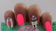 decoradas con Easy Nail Art Hacks for Perfect Manicure By applying a single coat, you will have a hard time making a dirty mess. Love Nails, Pink Nails, Pretty Nails, My Nails, Western Nails, Country Nails, Tribal Nails, Fabulous Nails, Nail Art Hacks
