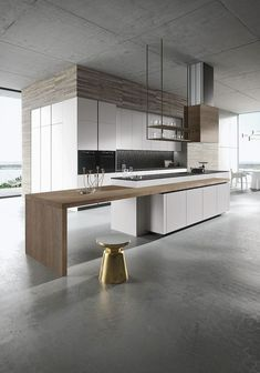 Perfectly-Designed Modern Kitchen Inspirations (165 Photos) https://www.futuristarchitecture.com/22124-modern-kitchen-designs.html #LuxuryExteriorDesign