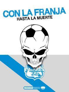 ¡Con la franja hasta la muertes! #LigraficaMX #PueblaFC