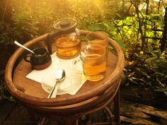 Warm sun, Darjeeling Tea and Nature: Perfect feeling