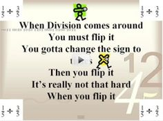My kids LOVED this song about dividing fractions. (Math Rocks! Dividing Fractions FLIP IT on TeacherTube)
