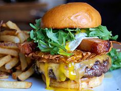 The last burger you eat before you die...the Breakfast Burger, Rustic Canyon.
