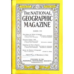 National Geographic Magazine, March 1949 | $4.59