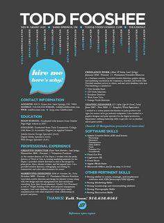 CV creativo | ☁ CVs Creativos | Pinterest