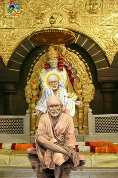 Sai rushes to answer those who called him Sai Baba Pictures, God Pictures, Shree Ganesh, Ganesha, Shirdi Sai Baba Wallpapers, Hanuman, Krishna, Durga, Sai Baba Hd Wallpaper