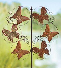 #Butterflies Metal #Wind #Spinner