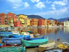 Sestri Levante, Liguria by Pam Jensen