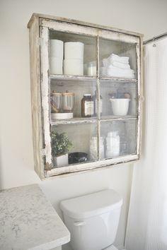 DIY antique window c