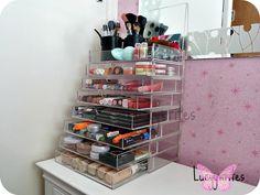 Stacked CoolKubes Makeup Storage