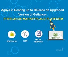 Are you a forward-looking entrepreneur, awaiting to explore the beneficial freelancing marketplace? Agriya is all set to launch an upgraded version of Getlancer Portfolio, Job and Quote scripts to find your feet. These are Behance, Coroflot andThumbtack clone scripts respectively.   Want to know more? Contact us, https://www.agriya.com/contact