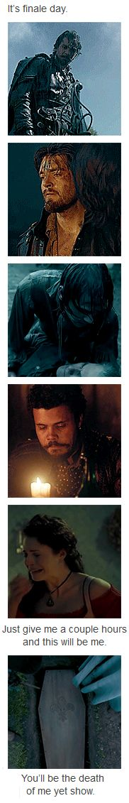 The Musketeers - 'Finale Day' I think I can speak for the entire fandom when I say, yes... just... yes. This is so true!