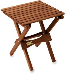 A Camp Essential Made From Keruing, a Super-Strong Hardwood. Byer Pangean Folding Table.