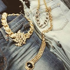 Lookie!! @200parkforher has locally made costume #jewelry that combines #contemplate pieces w/#vintage!! #shopokc #downtownokc