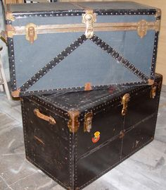 Used by immigrants and bootleggers alike, these steamer trunks compliment any 1920s or speakeasy party.