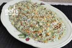 Nefis Yoğurtlu Kabak Salatası