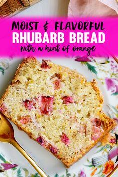 Loaf Recipes, Quick Bread Recipes, Dessert Recipes, Breakfast Recipes, Dessert Bread, Breakfast Time, Recipes Dinner, Cake Recipes, Orange Recipes