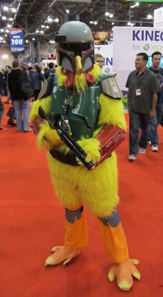 Boba Fett chicken. For my son and husband!
