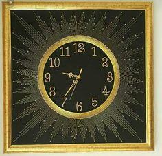 Geometry Art, Thread Art, Plastic Flowers, String Art, Clocks, Wood Crafts, Cool Stuff, Painting, Nail String Art