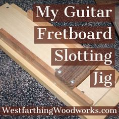 This guitar fretboard slotting jig is easy to make, and you can slot an entire fretboard without measuring once. I designed this jig a long time ago, and have been using it ever since. It saves you money over buying a jig from a guitar making supplier, and you can make it from scraps in the shop in most cases, making it nearly free. Enjoy the post, and happy building.