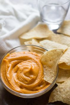 This vegan nacho sweet potato cheese is made from, wait for it...sweet potatoes! Specifically, sweet potatoes that are blended with creamy coconut milk with zesty seasonings. Be amazed.