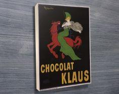 Klaus-Chocolate  http://www.canvasprintsaustralia.net.au/product/klaus-chocolate-vintage-poster/