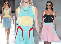 Prada Spring 2012 (from heart n soul's blog)~~~ beautiful colours and shapes