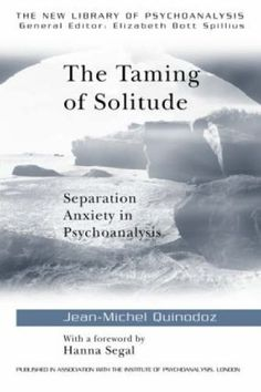 """Jean-Michel Quinodoz brings together the views of Freud, Klein, Hanna Segal, W.R.D. Fairbairn, D.W. Winnicott, Anna Freud, Margaret Mahler, Heinz Kohut, John Bowlby and others, presenting a comprehensive approach to the experience of loneliness, a universal phenomenon which can be observed in everyday life and in any therapeutic situation. Written with clarity and insight, """"The Taming of Solitude"""" will be of great interest to all psychoanalysts and therapists. Tavistock, Library Catalog, Separation Anxiety, Jean Michel, Library Books, Loneliness, Solitude, Clarity, Insight"""
