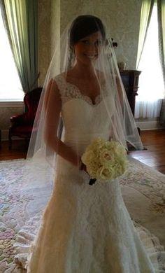 Used Allure Wedding Dress 8825, Size 4