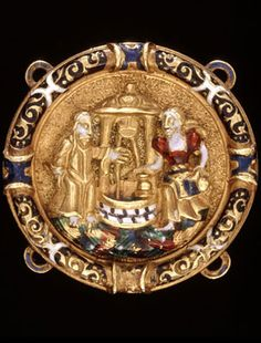 Gold and enamelled hat ornament for men, - From the accession of Henry VIII in 1509 until the death of James I in 1625 men wore just as much jewelery as their female counterparts. Tudor History, British History, Jacobs Well, Renaissance Jewelry, Medieval Jewelry, Wars Of The Roses, Gifts For Photographers, Royal Jewelry, Crown Jewels