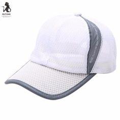 best website 84c25 19d4b Baseball Caps Summer Breathable Mesh Baseball Cap Men Women Sport Hats  Casquette ny Baseball Caps For