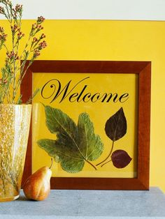 Create an inexpensive seasonal display with DIY fall decor. These lovely arrangements look great on a table, mantel, chair, and more for indoor and outdoor fall decor that will make you proud. Easy Fall Crafts, Crafts To Make, Holiday Crafts, Diy Crafts, Holiday Ideas, Holiday Time, Autumn Leaves Craft, Fall Leaves, Diy Autumn