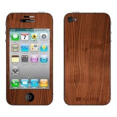 etsy. Real Wood Skin - iPhone 4/4S - Natural Walnut. $25