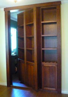 Sheila of Ephemera just got The Coolest Hidden Doorway Bookcase Of All Time.