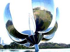 Flor de metal em Buenos Aires...