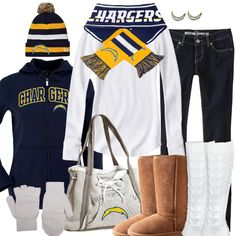 San Diego Chargers Winter Fashion