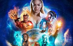 Download wallpapers Legends Of Tomorrow, poster, 2017 movie, TV Series