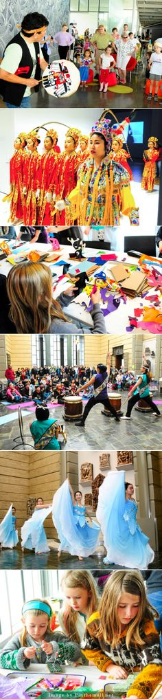 """FREE Seattle Art Museum """"Family Days"""" and festivals Every fall, be on the lookout for a very special Diwali-themed Free First Saturday, featuring henna and a fashion show presented by SAM Partner Junior Asha. Every February, celebrate the Chinese Lunar New Year with activities focused on the New Year's zodiac animal. Come spring, don't miss a special Japanese doll display in honor of Girls' Day! Designed for kids ages 3–12 and their parents or guardians - created via ..."""