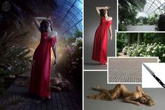 Stunning photo manipulations in #Photoshop. Fairy #DigitalArt from common images