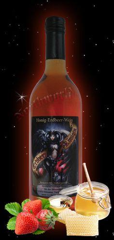 """Met Northworld Honey Mead """"Strawberry Queen"""""""