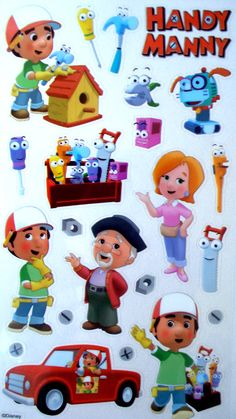 handy manny.....he loves this.