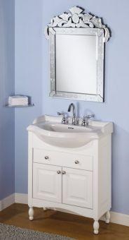 Narrow Depth Bathroom Vanities. 30 Inch Single Sink Narrow Depth Furniture Bathroom Vanity With Choice Of Finish And Sink Uveiw30